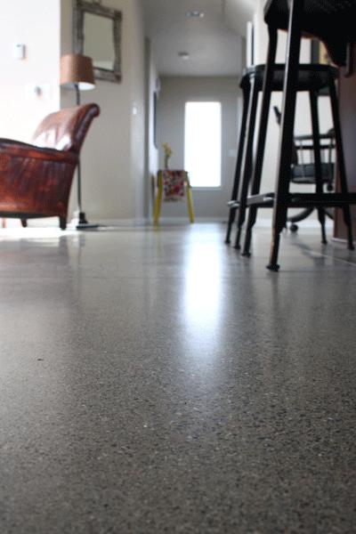 Honed concrete floors gurus floor for Polished concrete maintenance