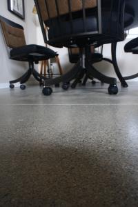Polished Honed Concrete Spokane Home